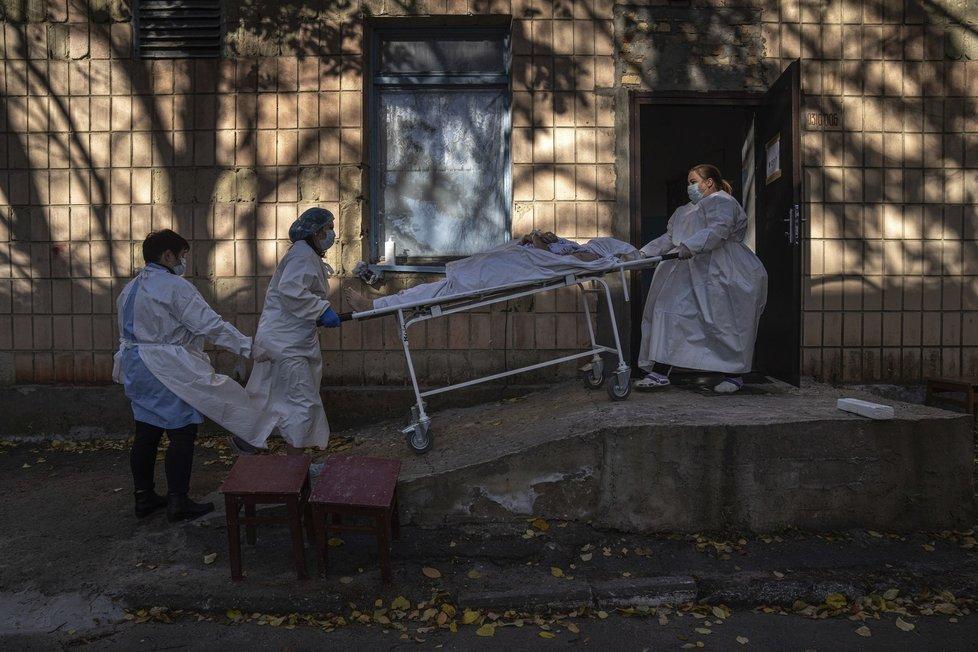 Koronavirus na Ukrajině.
