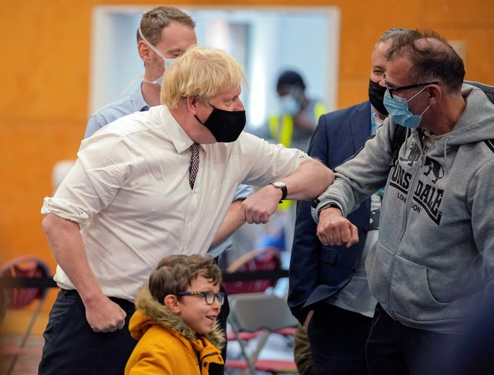 Koronavirus v Británii.