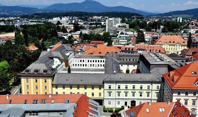 Koruntanská metropole Klagenfurt