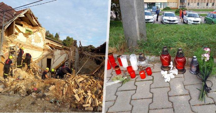 Tragický výbuch domu v Koryčanech: To já jsem měla zemřít, řekla plačící matka mrtvého hasiče