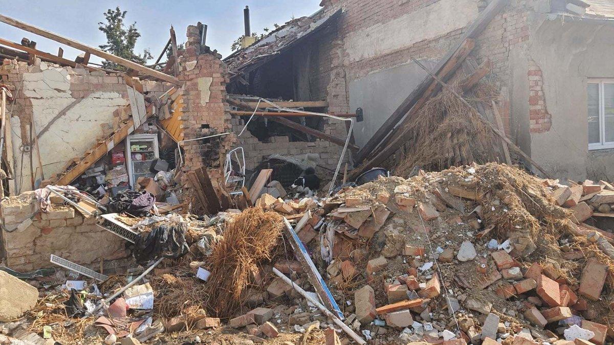 V Koryčanech na Zlínsku došlo k výbuchu v domě.