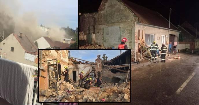 Policisté prověřují tragédii v Koryčanech: Prosí o kamerové záznamy exploze!