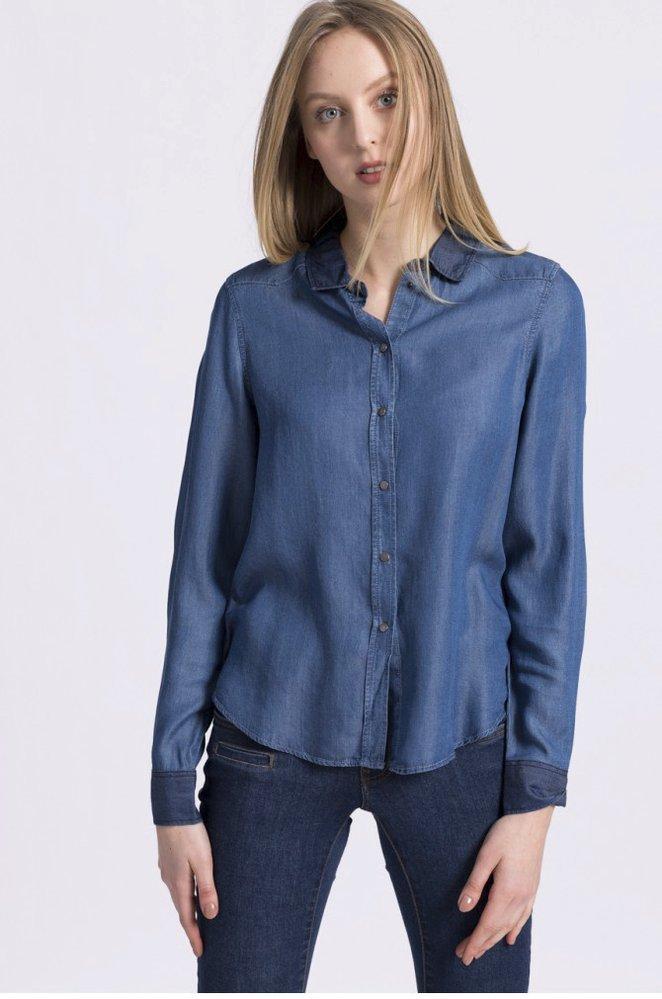 Denim košile, Vero Moda, 899 Kč, www.answear.cz