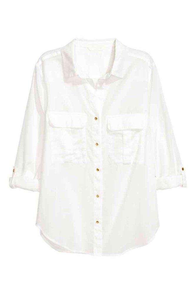 Košile Utility, H&M, 599 Kč