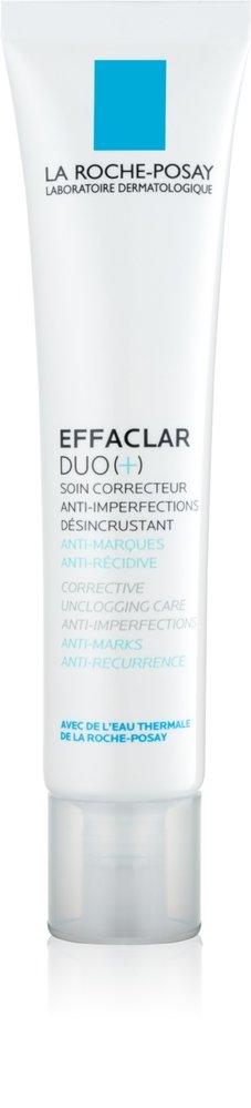 La Roche-Posay Effaclar DUO (+) korekční obnovující antirecidivní péče proti nedokonalostem pleti a stopám po akné, 399 Kč