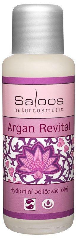 Hydrofilní odličovací olej Argan Revital, Saloos, saloos.cz, 100 Kč/50 ml