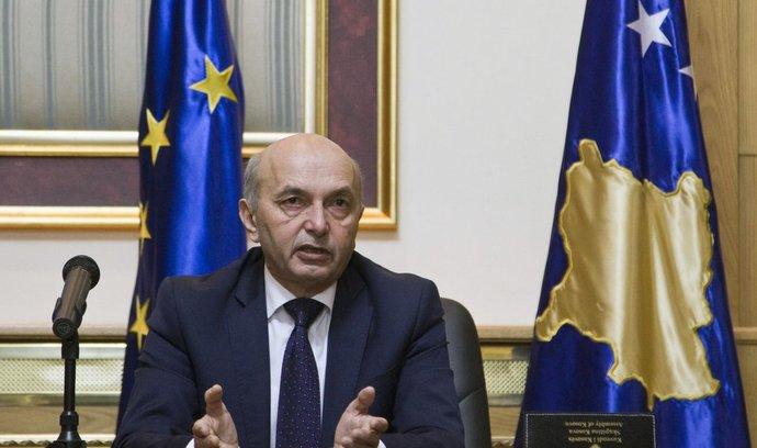 kosovský premiér Isa Mustafa