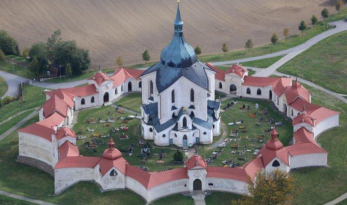 kostel sv. Jana Nepomuckého na Zelené hoře ve Žďáru nad Sázavou