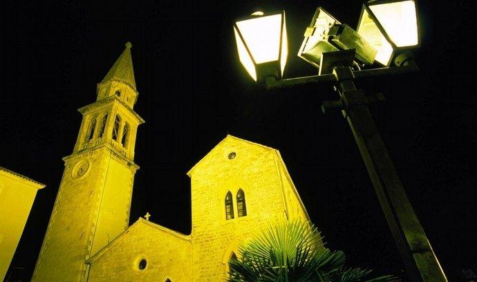 Kostel v černohosrské Budvě