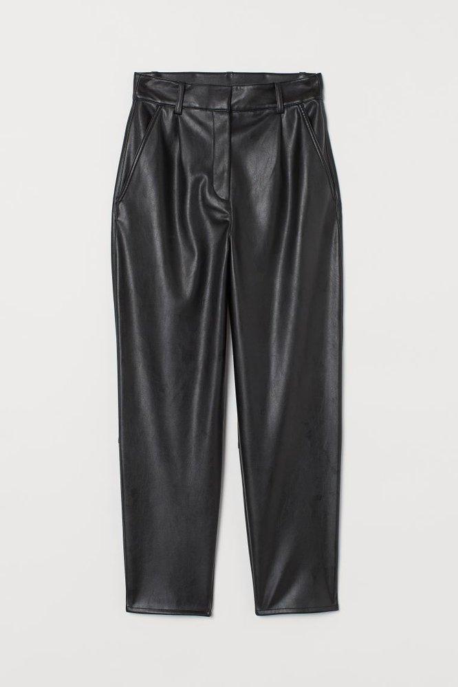 Koženkové kalhoty, H&M, 799 Kč