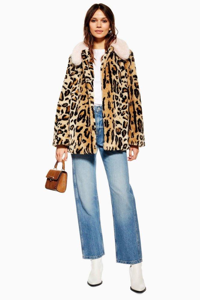 Leopardí kožíšek, TopShop, £69.00