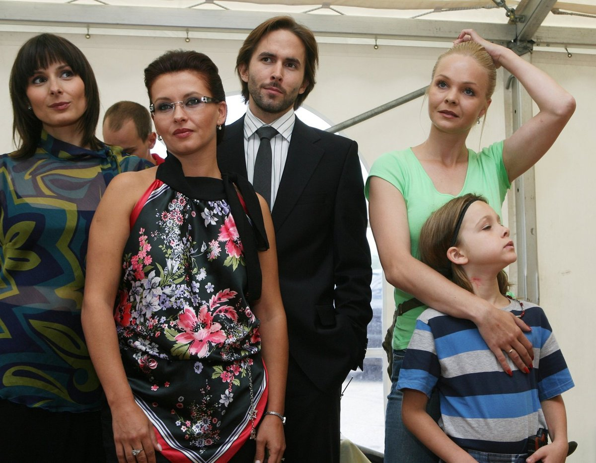 Sabina Králová si zahrála i v seriálu Velmi křehké vztahy.