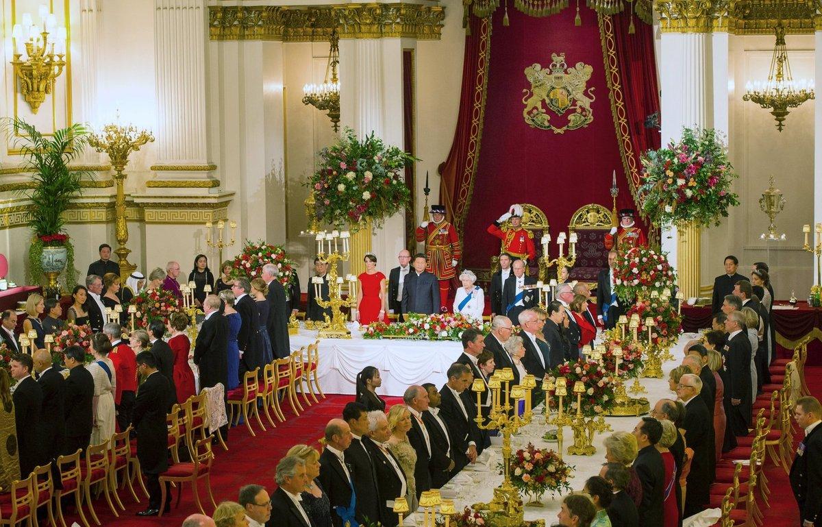 Banket u královny Alžběta II.