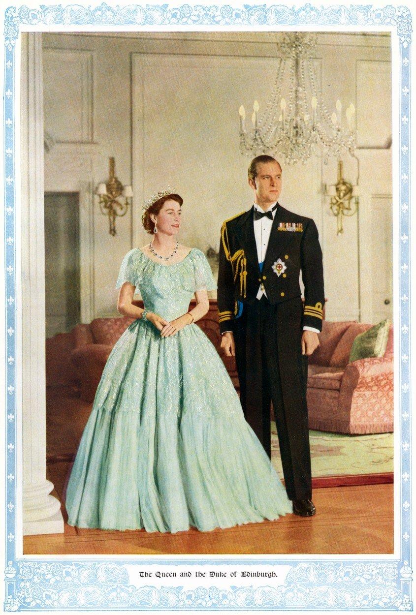 Královna Alžběta II. a její módní vkus: 50. léta