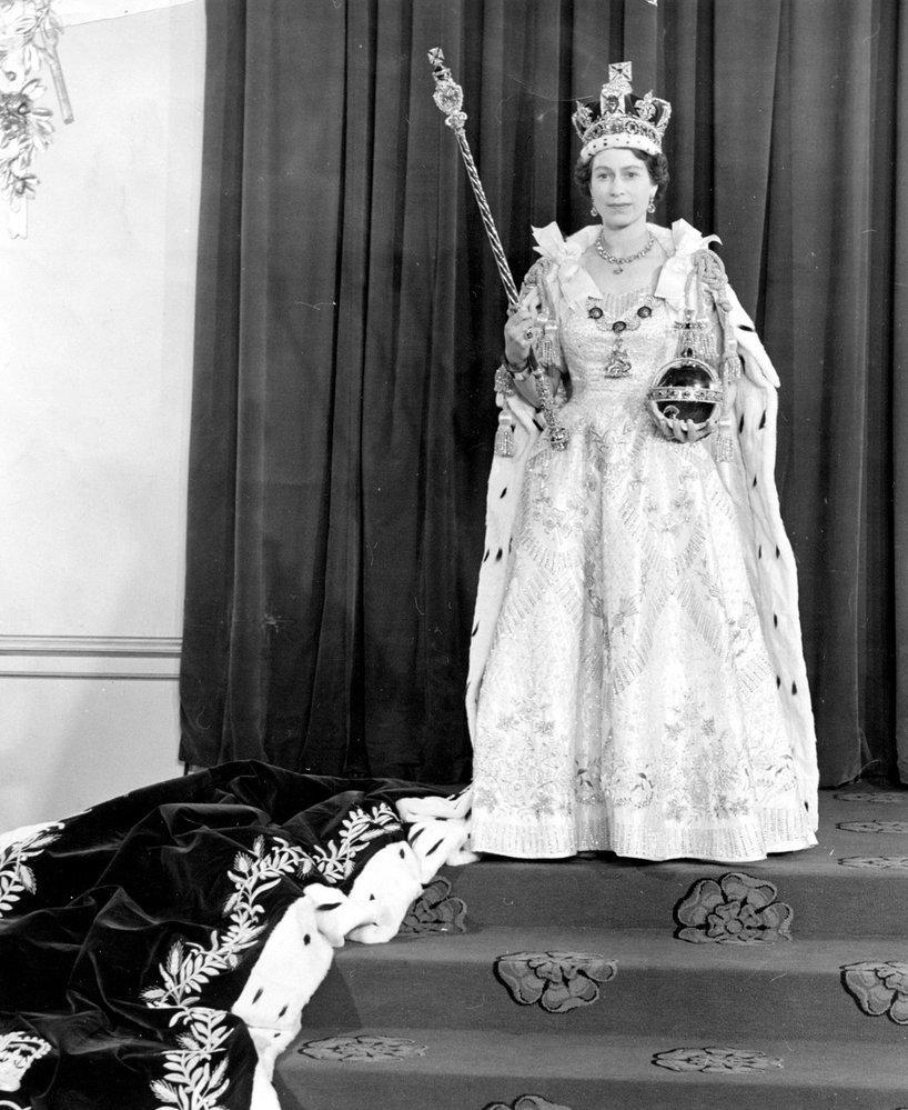 Korunovace královny Alžběty II. v roce 1953