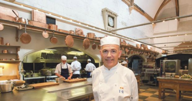 Unikátní pohled do kuchyně ve Windsoru
