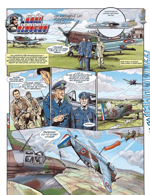 Král vzduchu 10: Poslední let plukovníka Nováka