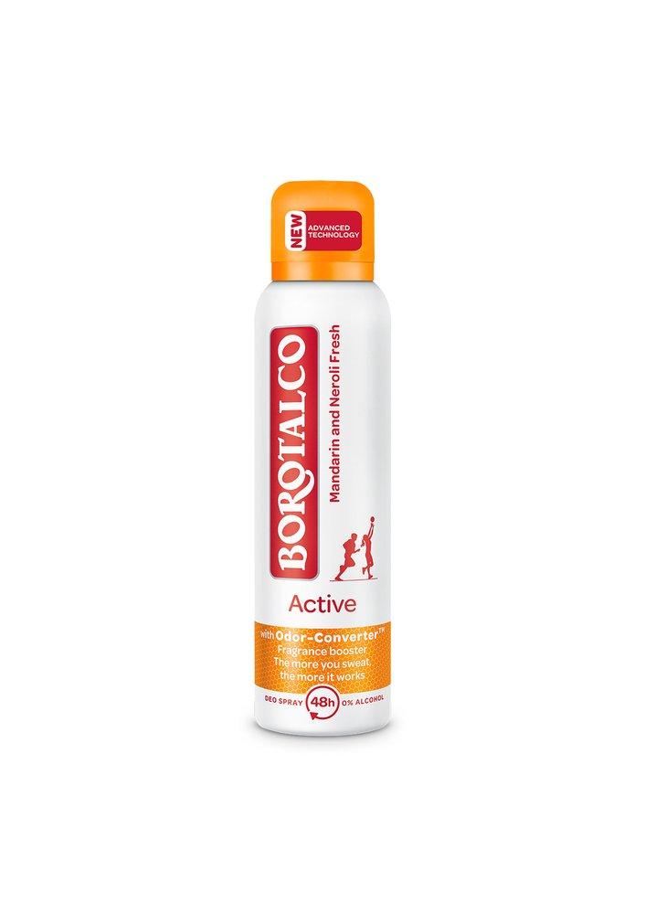Deodorant ve spreji Active Mandarin a Neroli, Borotalco, 120 Kč