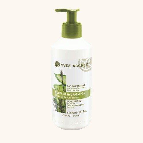 Hydratační tělové mléko s aloe vera, Yves Rocher, 259 Kč/390 ml