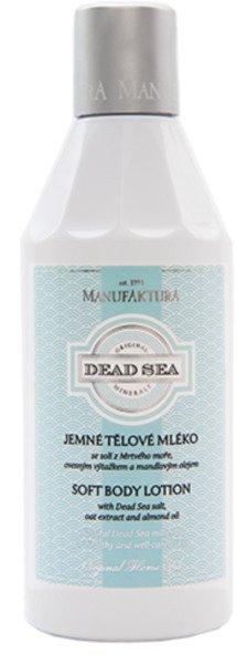 Extra jemné regenerační tělové mléko Mrtvé moře, Manufaktura, 249 Kč/250 ml