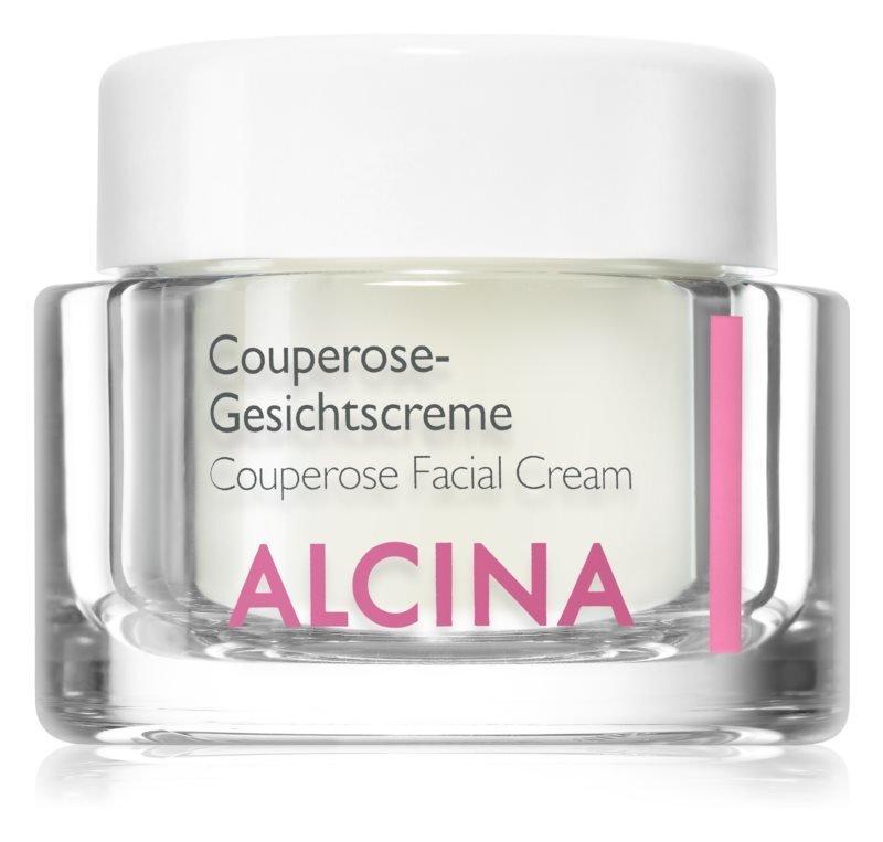 Posilující krém na rozšířené a popraskané žilky Couperose Facial Cream, Alcina, 860 Kč/50 ml