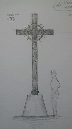 Měl by být i kříž, zatím není