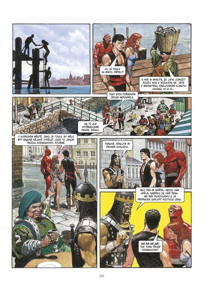 Ukázka z Kronik Pandarve