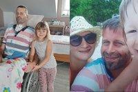 Tátovi (41) dvou holčiček praskla mozková výduť! Časovaná bomba, říkají lékaři