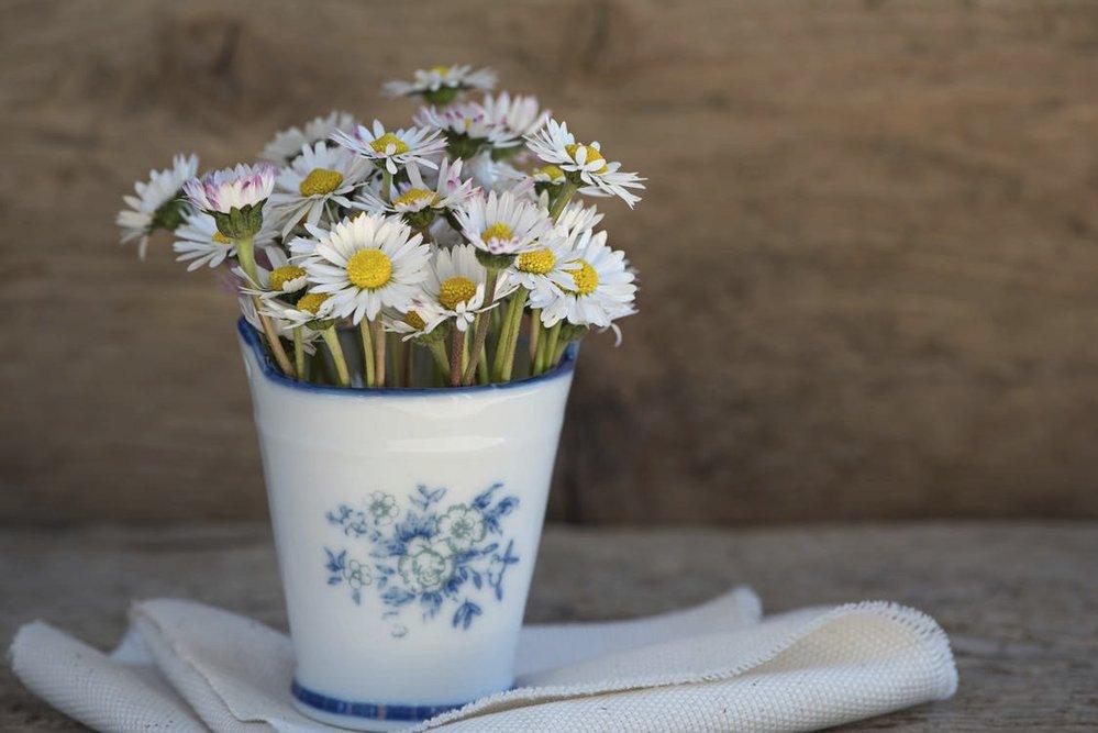 Jaro si můžete užívat i doma. Stačí, když do vázy naaranžujete několik květin.