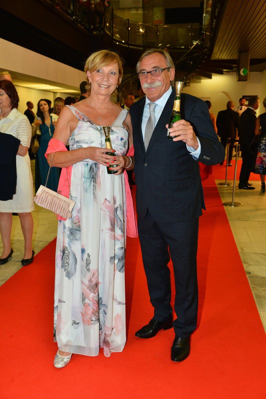 Pavel Zedníček s manželkou Hankou