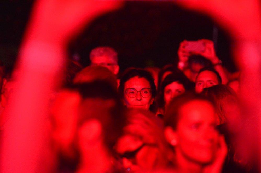 Koncert kapely Alphaville na festivalu v Karlových Varech