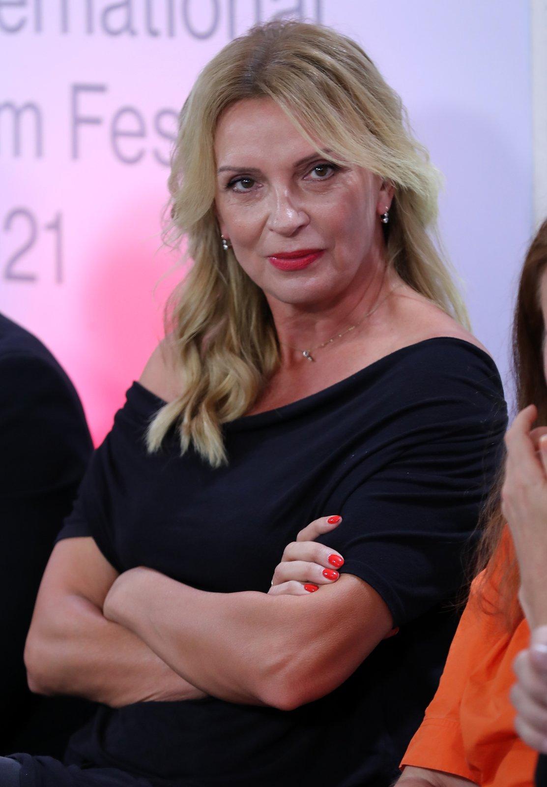 Tisková konference filmu Zbožňovaný - Ivana Chýlková