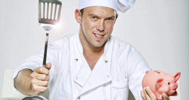 Hruška sám sebe za kuchaře nepovažuje.