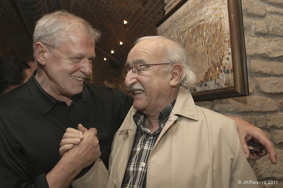 Laďa Kerndl a Juraj Herz