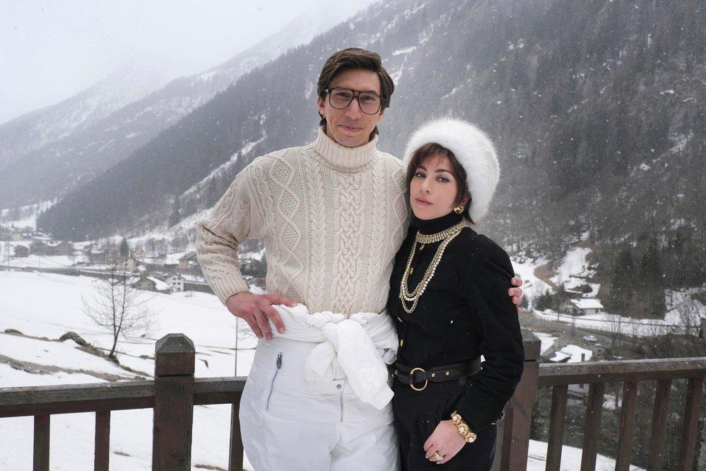 Adam Driver a Lady Gaga v očekávaném snímku House of Gucci
