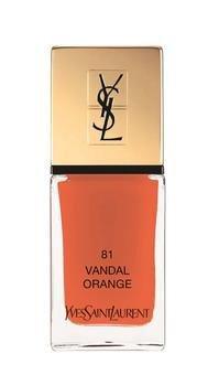 YSL La Laque Couture - Lak na nehty N°81 in Vandal Orange 699 Kč