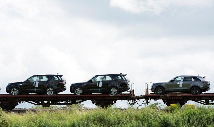 Vozy automobilky Land Rover