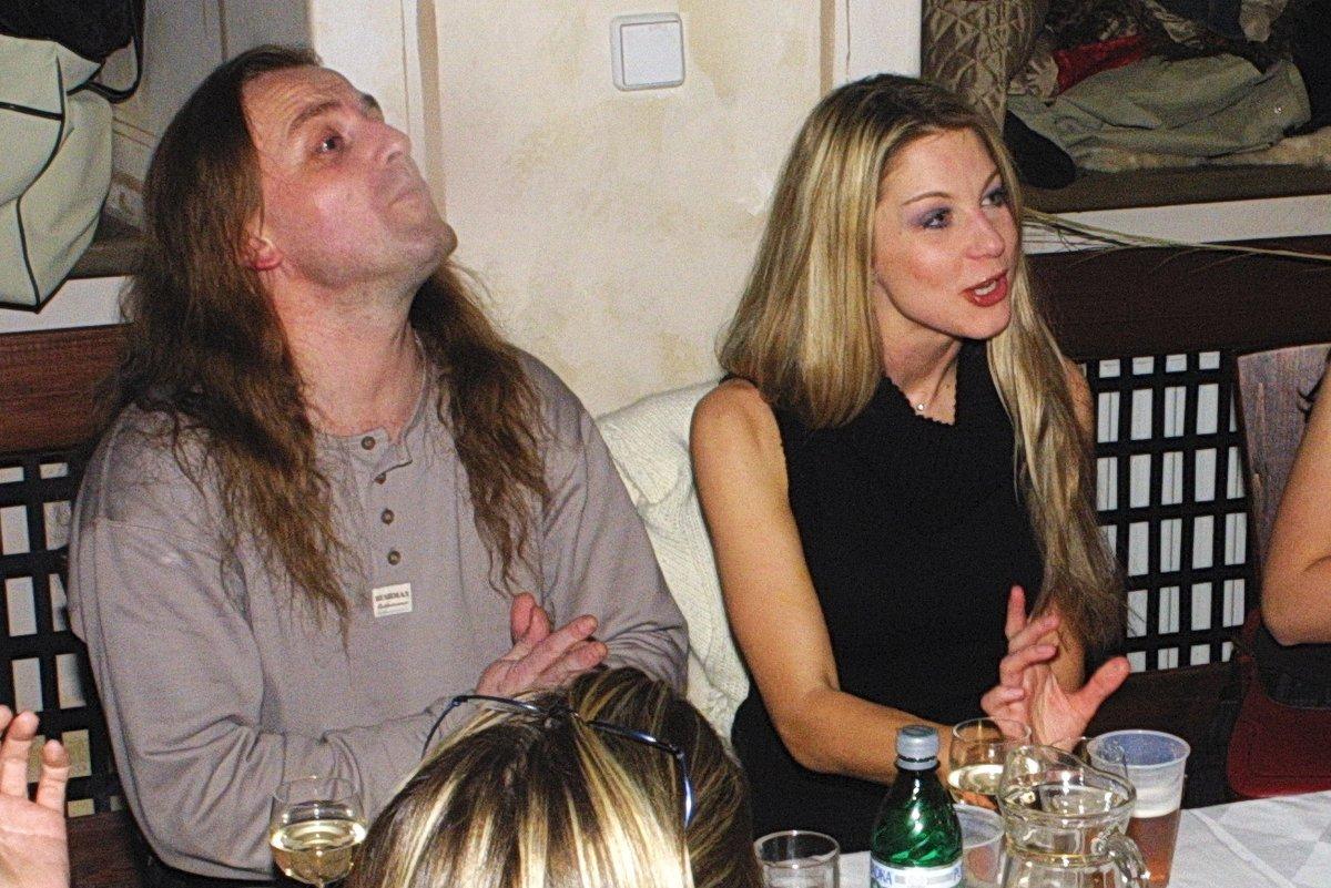 2003 Vojtek s Laurinovou byli při tehdejší premiéře ještě pár.