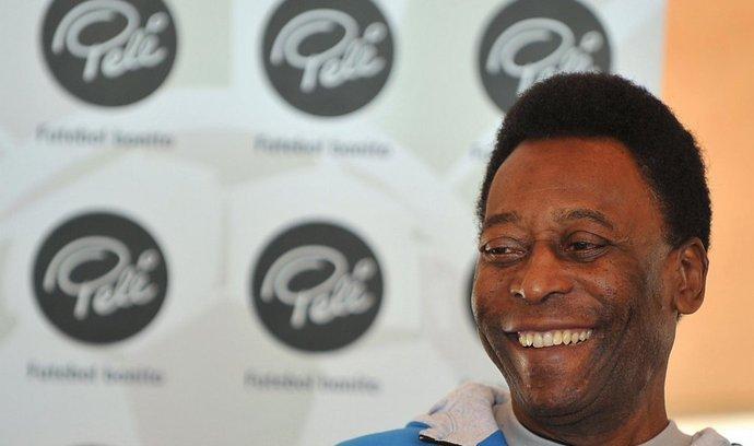 Legendární fotbalista Pelé