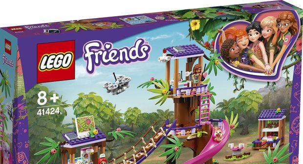 Soutěž časopisu Mateřídouška o 3 stavebnice Lego Friends – Základna záchranářů vdžungli
