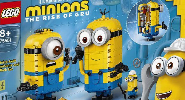 Soutěž s Mateřídouškou o 5 LEGO stavebnic s Mimoni
