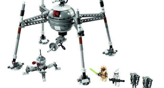 Lego Star Wars: Řízený pavoučí droid vzbuzuje respekt