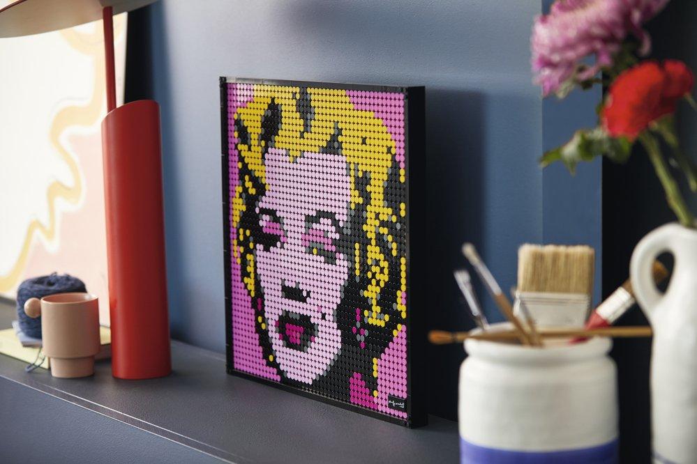 Lego Art Andy Warhol Marilyn Monroe