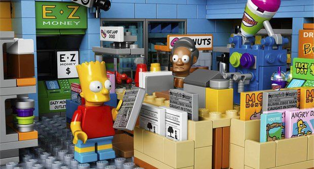Plus video! Galerie: LEGO Simpsonovi mají Kwik-E-Mart