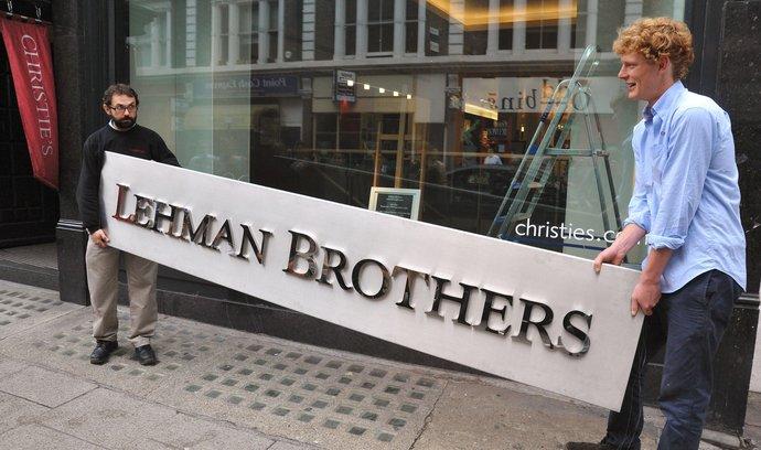 Lehman Brothers padla po více než 150 letech existence