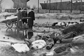 Během obléhání Leningradu zemřelo přes milión obyvatel. Lidé trpěli hladem, za…
