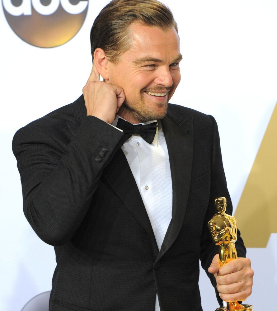 Leonardo DiCaprio, 2016