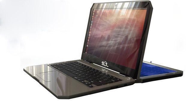 Solární laptop: Hodí se do terénu