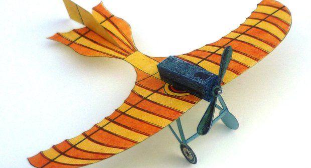 Vystřihovánka ke stažení: Letadlo