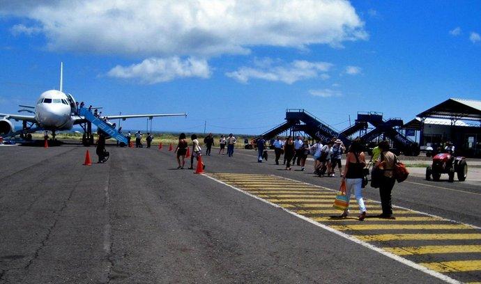 Letiště na ostrově Baltra